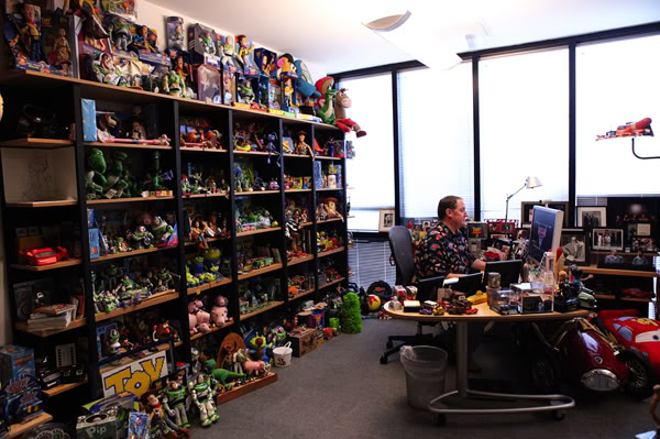 John Lasseter's office.